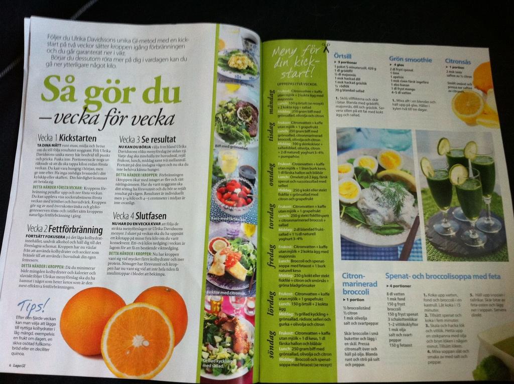 ulrika davidsson kickstart recept