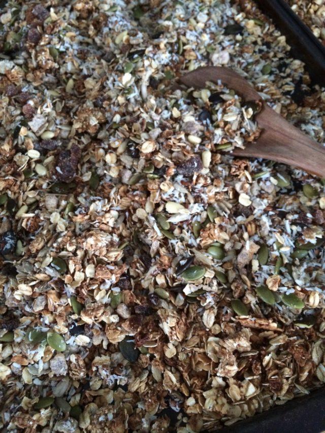 Granola utan nötter