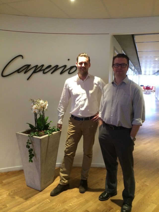 Caperio hälsosatsning