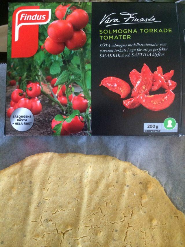 Solmogna torkade tomater
