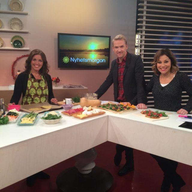 Glutenfria pizzor TV4