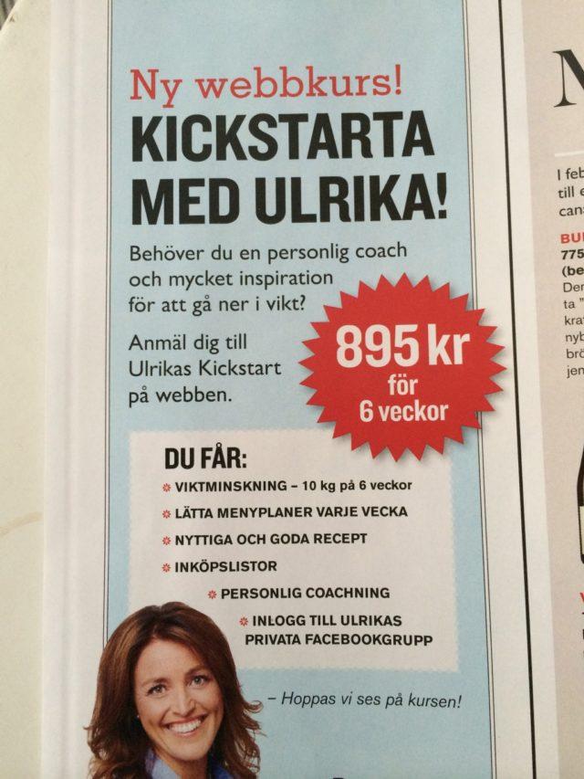 Kickstarta med Ulrika