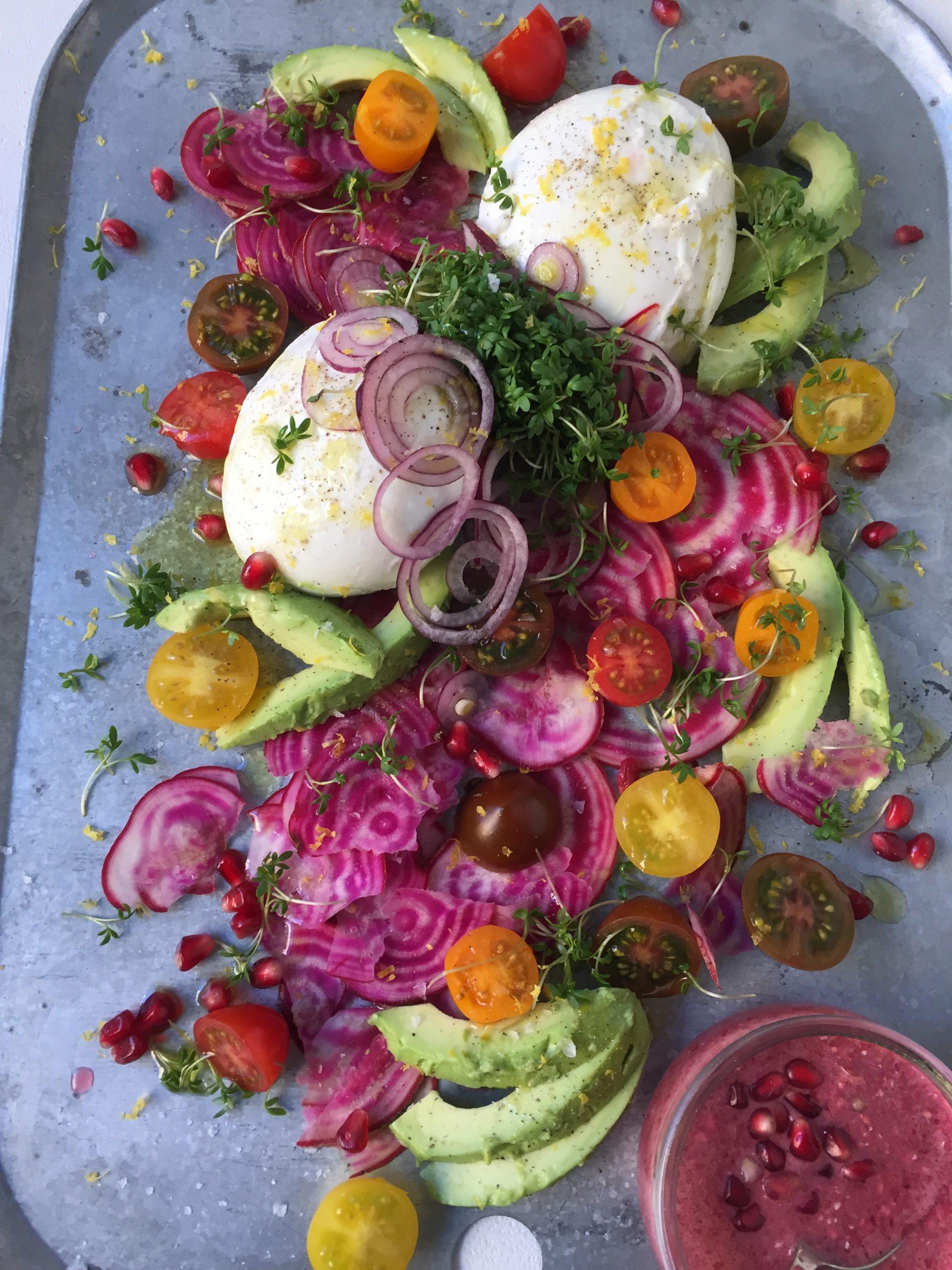 gå ner i vikt med vegetarisk mat