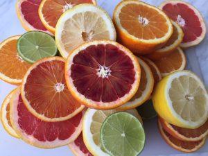 citrusfrukter som ingår i cleansingkursen
