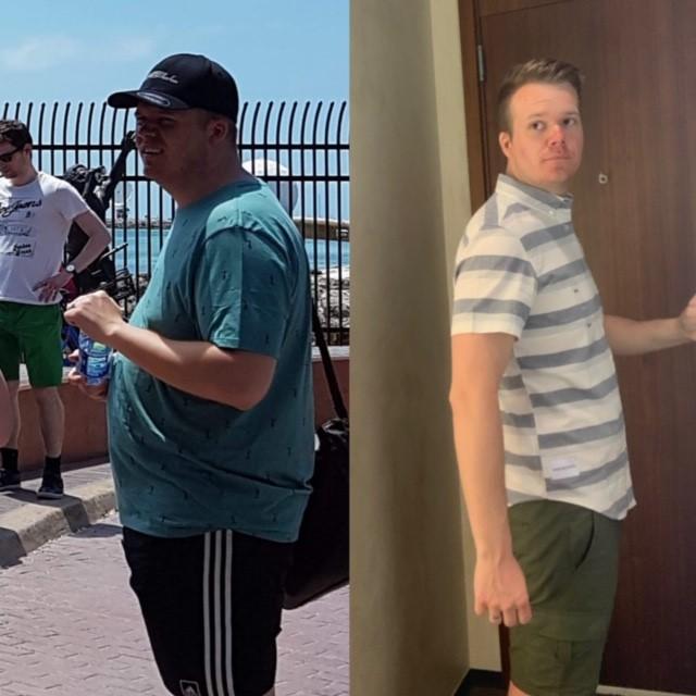 Kristoffer gick ner 20 kilo med Ulrikas kurser