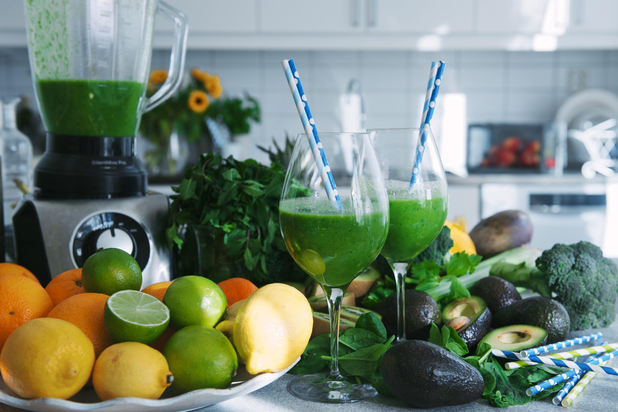 boosta immunförsvaret med grön juice