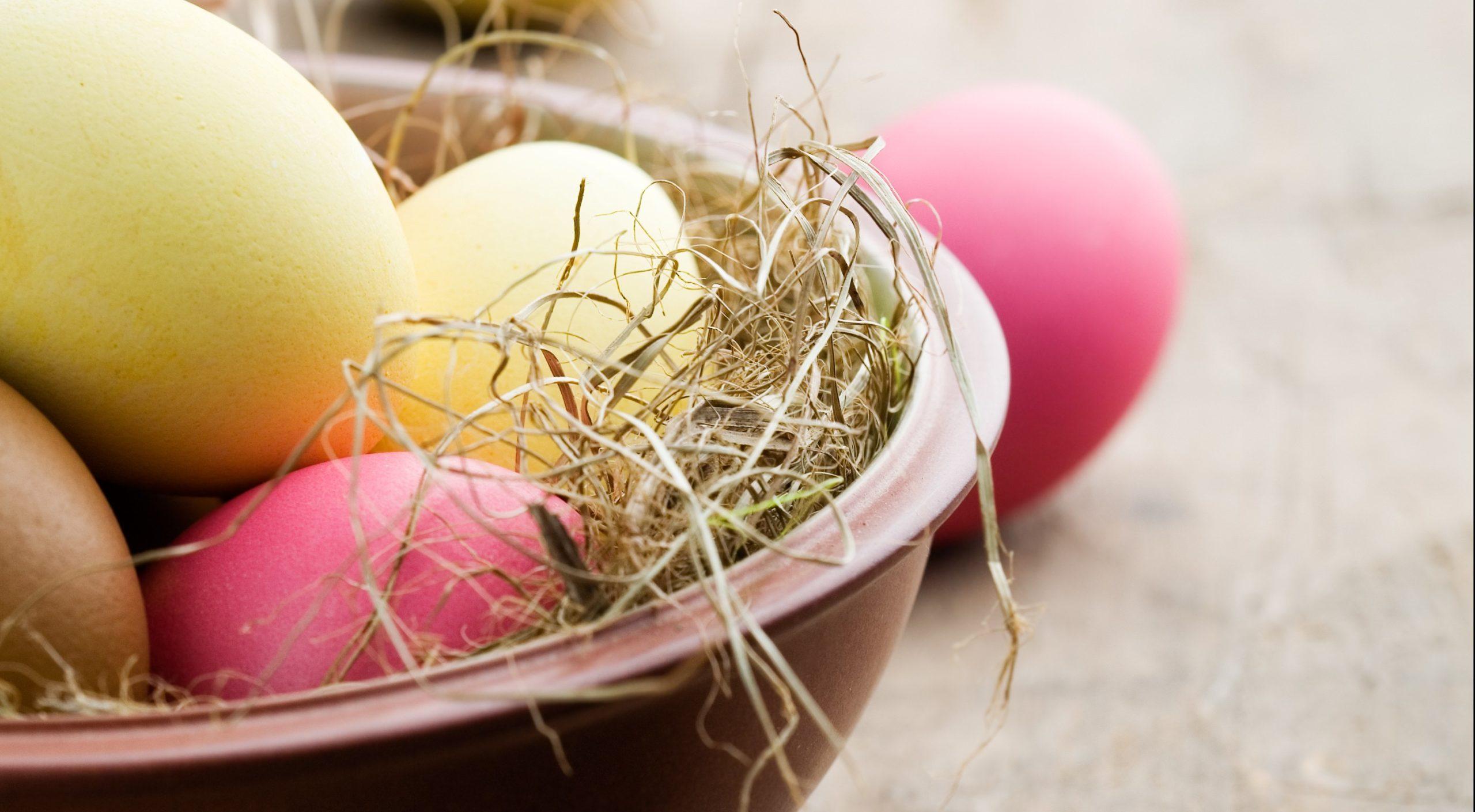 Ulrikas påskvecka innehåller mat med ägg