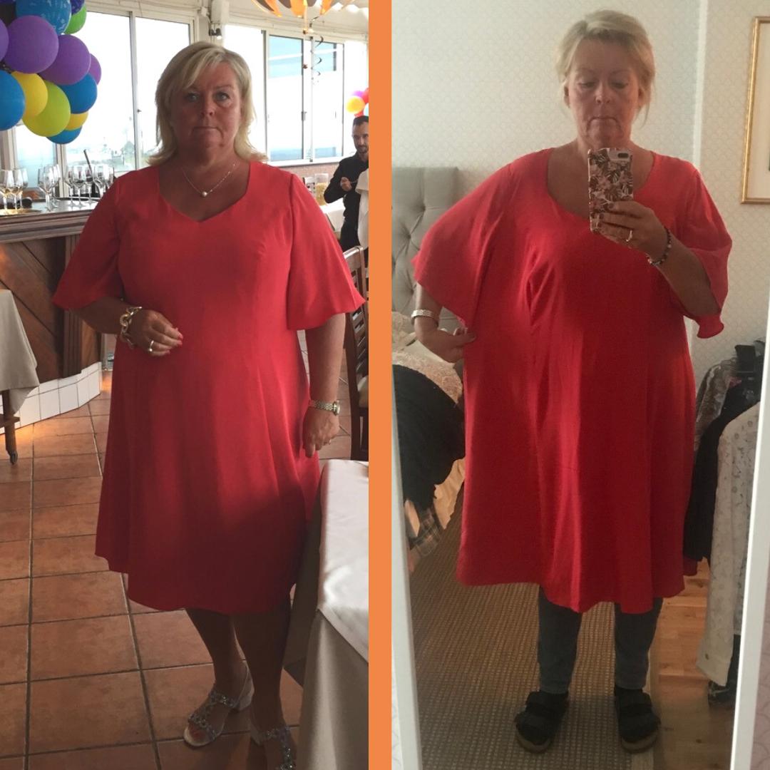 Susanne har gått ner 35 kilo med Ulrika Davidsson
